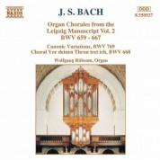 Bach, J.S.: Organ Chorales From the Leipzig Manuscript, Vol. 2 - CD