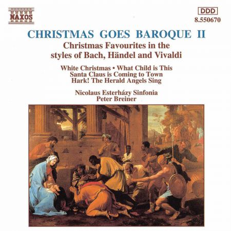 Peter Breiner, Nicolaus Esterhazy Sinfonia: Christmas Goes Baroque 2 - CD
