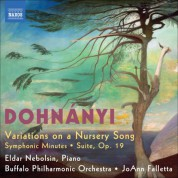 JoAnn Falletta: Dohnanyi: Variations on a Nursery Song - CD