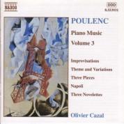 Poulenc: Piano Music, Vol.  3 - CD