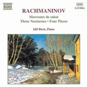 Rachmaninov: Morceaux De Salon / Three Nocturnes - CD