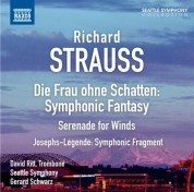 Gerard Schwarz: Strauss: Symphonic Fantasy on Die Frau ohne Schatten - Serenade, Op. 7 - Symphonic Fragment from Josephs Legende - CD