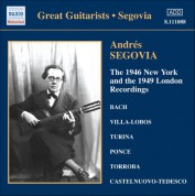 Segovia, Andres: 1946 New York and the 1949 London Recordings (The) - CD