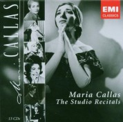 Maria Callas - The Studio Recitals - CD
