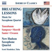 New Hudson Saxophone Quartet: Breathing Lessons - CD