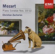 Christian Zacharias: Mozart: Piano Sonatas No.10-12 - CD