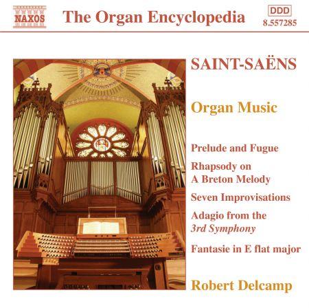 Saint-Saens: Organ Music - CD