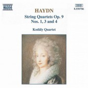 Haydn: String Quartets, Op. 9, Nos. 1, 3 and 4 - CD