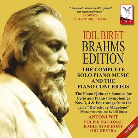 İdil Biret: Brahms Edition - CD