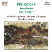 Theodore Kuchar, Ukraine National Symphony Orchestra: Prokofiev: Symphonies Nos. 3 & 7 - CD