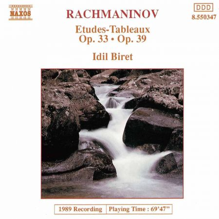 Rachmaninov: Etudes-Tableaux, Opp. 33 and 39 - CD