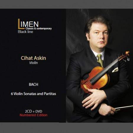 Cihat Aşkın: Bach: 6 Violin Sonatas and Partitas - CD
