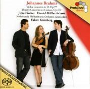 Yakov Kreizberg, Netherlands Philharmonic Orchestra, Julia Fischer, Daniel Müller-Schott: Brahms: Violin Concerto - CD