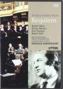 Rachel Yakar, Ortrun Wenkel, Concentus Musicus Wien, Nikolaus Harnoncourt: Mozart: Requiem - DVD
