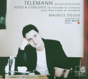 Maurice Steger: Telemann: Suites & Concertos - CD