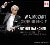 Kammerorchester Carl Philipp Emanuel Bach, Hartmut Haenchen: Mozart: Sinfonien 39, 40, 41 - CD