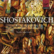 Borodin String Quartet: Shostakovich: String Quartets (2, 3, 7, 8, 12) - CD