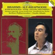 Claudio Abbado, Berliner Philharmoniker: Brahms: Alto Rhapsody, Op. 53 / Schicksalslied, Op. 54 / Gesang der Parzen, Op.89 / Nanie, Op. 82 - CD