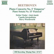 Beethoven: Piano Concerto No. 5 / Piano Sonata No. 15 - CD