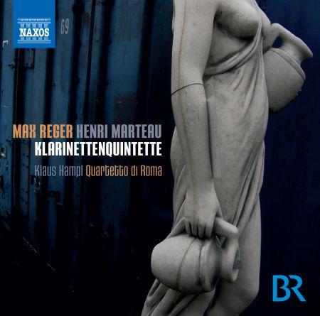 Klaus Hampl: Reger & Marteau: Clarinet Quintets - CD