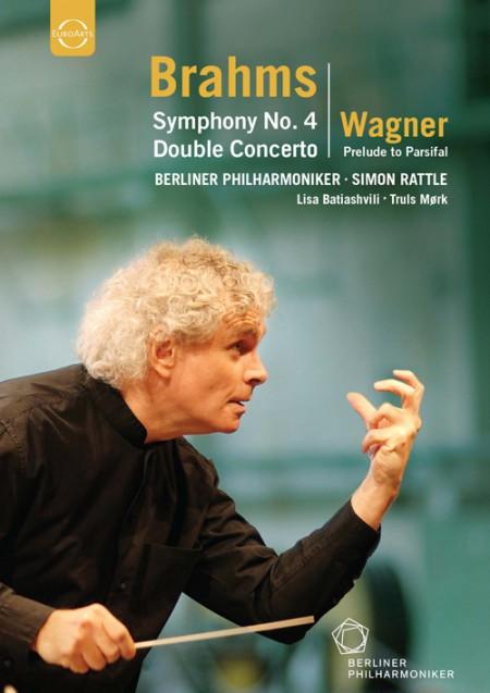 Lisa Batiashvili, Truls Mørk, Berliner Philharmoniker, Sir Simon Rattle: Europakonzert 2007 from Berlin (Brahms: Sym. No.4, Double Concerto / Wagner: Parsifal Prelude - DVD