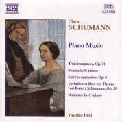 Schumann, C.: Piano Music - CD