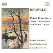 Berwald: Piano Trio in C Major / Piano Trio No. 4 - CD