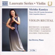 Violin Recital: Michiko Kamiya - CD