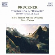 Royal Scottish National Orchestra, Georg Tintner: Bruckner: Symphony No. 4, 'Romantic' - CD
