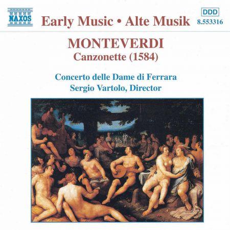 Monteverdi: Canzonette - CD