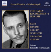 Arturo Benedetti Michelangeli: Michelangeli, Arturo Benedetti: Early Recordings, Vol. 1 (1939-1948) - CD