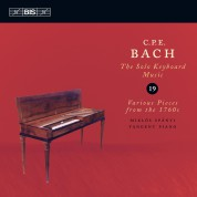 Miklós Spányi: C.P.E. Bach: Solo Keyboard Music, Vol. 19 - CD