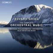 Bergen Philharmonic Orchestra, Ole Kristian Ruud: Grieg: Orchestra 8/3 - CD