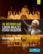 Norma Fantini, Francesco Meli, Rafal Siwek, Anna Smirnova, Symphonica Toscanini, Lorin Maazel: Verdi: Messa da Requiem - BluRay