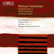 Nancy Maultsby: Richard Yardumian - Symphony No.2 - CD