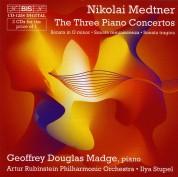 Geoffrey Douglas Madge, Artur Rubinstein Philharmonic Orchestra, Ilya Stupel: Medtner: The Three Piano Concertos - CD