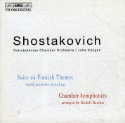 Ostrobothnian Chamber  Orchestra, Juha Kangas: Shostakovich: Suite on Finnish Themes - CD
