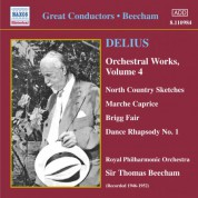 Royal Philharmonic Orchestra: Delius: Orchestral Works, Vol. 4 (Beecham) (1946-1952) - CD