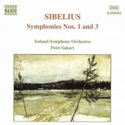 Sibelius: Symphonies Nos. 1 and 3 - CD