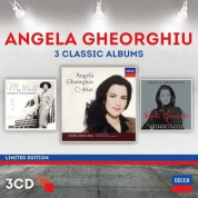 Angela Gheorghiu, Orchestra del Teatro Regio di Torino, Orchestra Sinfonica di Milano Giuseppe Verdi, Riccardo Chailly: Angela Gheorghiu - 3 Classic Albums - CD