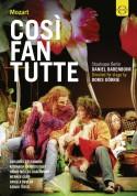 Doris Dörrie, Daniel Barenboim, Staatskapelle Berlin: Mozart: Così fan tutte - DVD
