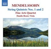Fine Arts Quartet: Mendelssohn: String Quintets (Complete) - CD