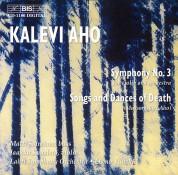 Lahti Symphony Orchestra, Osmo Vänskä: Aho / Mussorgsky: Symphony No. 3 & Songs and Dances - CD