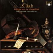 Musica Amphion, Pieter-Jan Belder, Menno van Delft, Siebe Henstra, Vincent van Laar: J.S. Bach: Concertos for 2, 3 & 4 harpsichords - CD