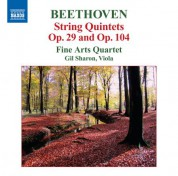 Fine Arts Quartet: Beethoven: String Quintets, Opp. 29 & 104 - CD