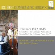 İdil Biret, Roderic von Benningsen: Brahms: Sonata No. 1, 2 for Cello and Piano - CD
