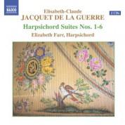 Jacquet De La Guerre: Harpischord Suites Nos. 1-6 - CD