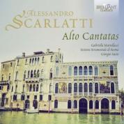 Gabriella Martellacci, Insieme Strumentale di Roma, Giorgio Sasso: A. Scarlatti: Alto Cantatas - CD