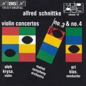Oleh Krysa, Malmö SymfoniOrkester, Eri Klas: Schnittke: Violin Concertos No.3 & 4 - CD