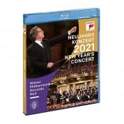 Wiener Philharmoniker, Riccardo Muti: New Year's Concert 2021 - BluRay